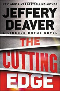 the cutting edge by jeffrey deaver book cover