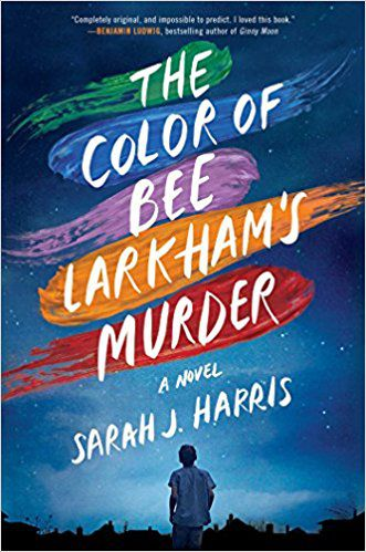 the color of bee larkham's murder by sarah j harris cover