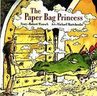 Cover of The Paper Bag Princess in 50 Must-Read Canadian Children's and YA Books | BookRiot.com