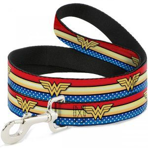 wonder woman leash | superhero accessories for dogs | bookriot.com