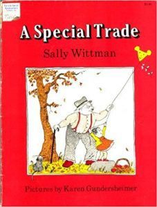A SPECIAL TRADE BY SALLY WITTMAN book cover