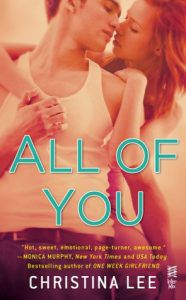 all-of-you-christina-lee cover From 15 Must-Read College Romance Books | BookRiot.com