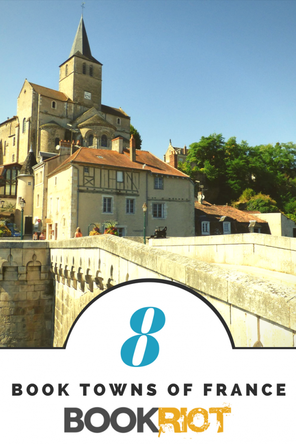 8 book towns of france | book towns | France | literary tourism | bookish travel
