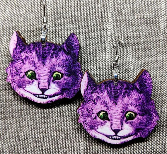 Cheshire Cat Earrings