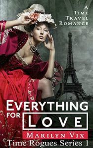 cover of everything for love by marilyn vix