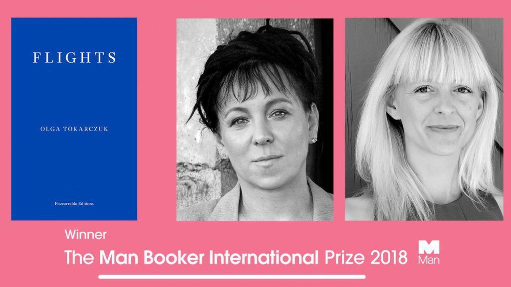 Flights by Olga Tokarczuk and translated by Jennifer Croft. 2018 Man Booker International Prize Winner