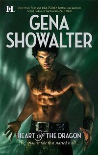 Heart of the Dragon by Gena Showalter cover