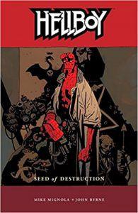 hellboy book cover mike mignola guillermo del toro