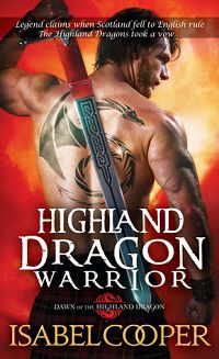 Highland Dragon Warrior by Isabel Cooper cover