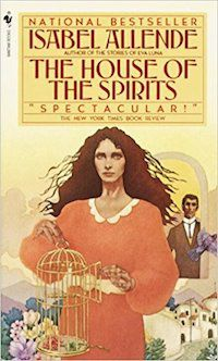 The House of the Spirits by Isabel Allende cover