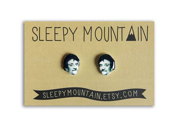 Kurt Vonnegut Earrings