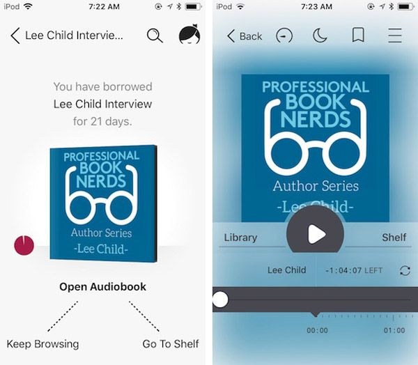 Listen to an Audiobook with the Libby App by Overdrive