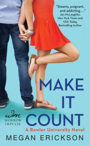 make-it-count-megan-erickson from 15 Must-Read College Romances on BookRiot.com
