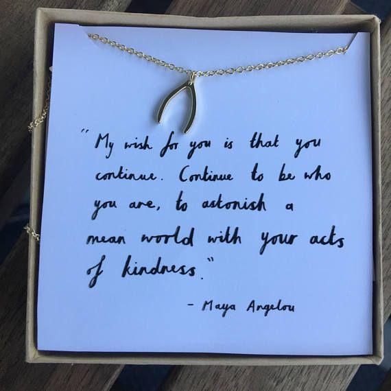 Maya Angelou necklace