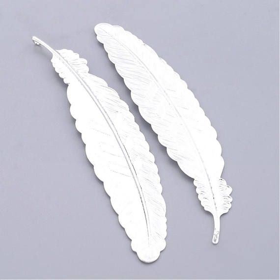 Feather bookmark, Metal bookmarks │Book Riot