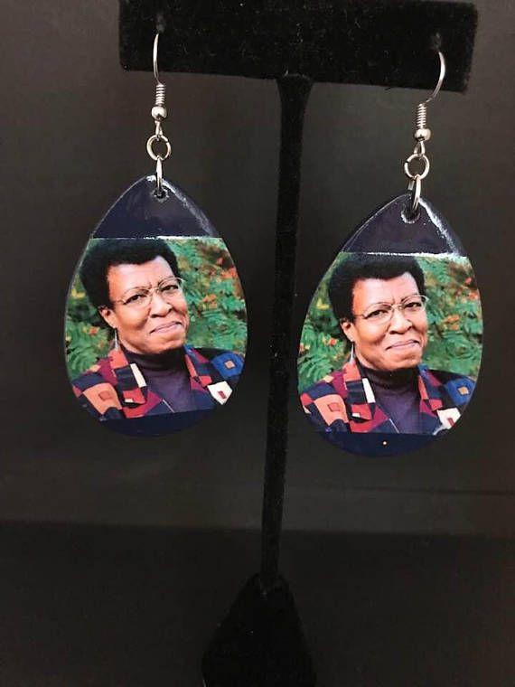 Octavia Butler earrings