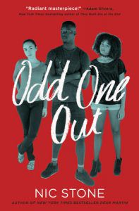 odd-one-out-nic-stone-cover from 2018 Bisexual YA Books BookRiot.com