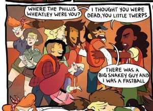 Where the Phillis Wheatley were you? Women of Lumberjanes