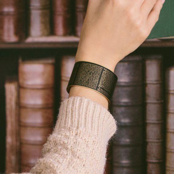 Jane Austen Pride and Prejudice Bracelet
