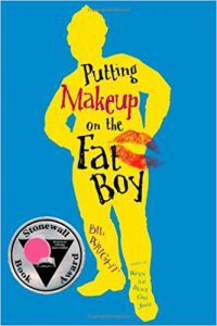putting makeup on the fat boy book cover