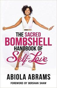 The Sacred Bombshell Handbook of Self-Love by Abiola Abrams cover