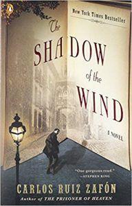 shadow of the wind book cover carlos ruiz zafon
