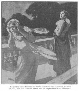 Maria Gibson berating Grace Dunbar