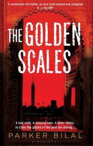 The Golden Scales by Parker Bilal cover