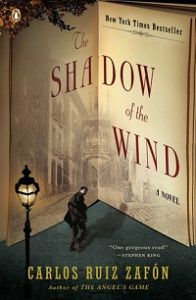 The Shadow of the Wind by Carlos Ruiz Zafon cover