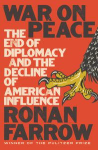 Cover of War on Peace by Ronan Farrow