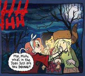 What in the Joan Jett? Women of Lumberjanes