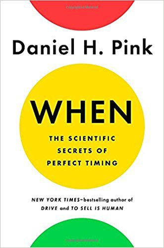 when by daniel h pink cover