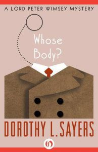 Whose Body by Dorothy L. Sayers cover