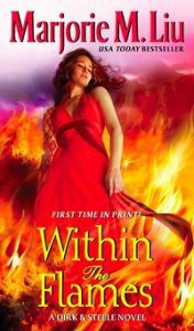 Shifter romance book Within the Flames by Marjorie M. Liu