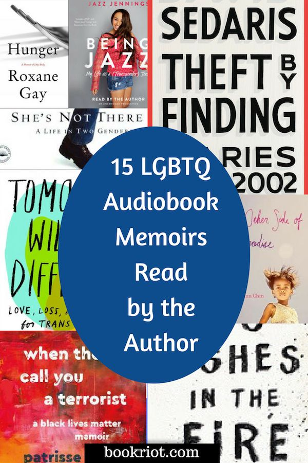 15 LGBTQ Audiobook Memoirs Narrated by the Author | BookRiot.com