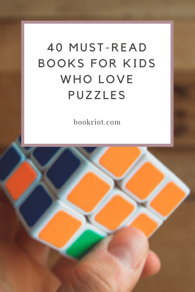 Books for Kids Who Love Puzzles