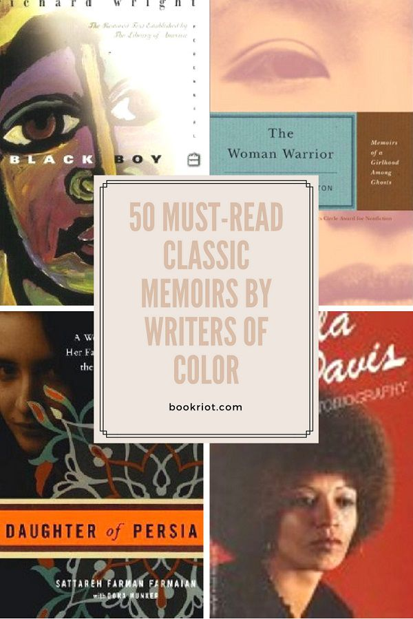 50 Must-Read Classic Memoirs by Writers of Color