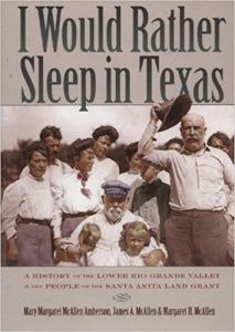 I Would Rather Sleep in Texas Book Cover