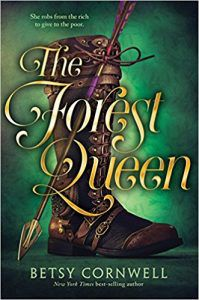 the forest queen by betsy cornwell cover