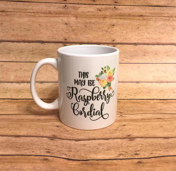 raspberry cordial mug
