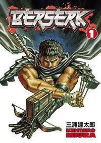Berserk volume 1 cover by Kentaro Miura