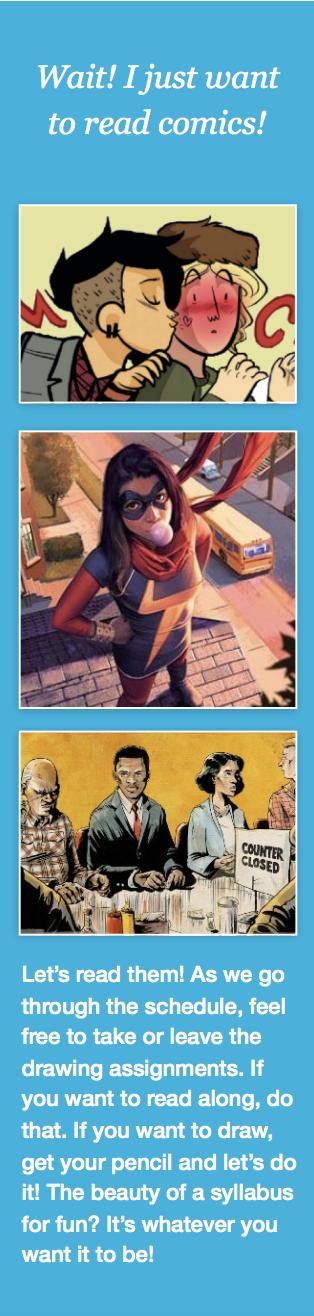 Comics Syllabus for Comics 101 | BookRiot.com