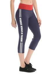 dc comics workout leggings