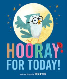 Hooray for Today by Brian Wan book cover