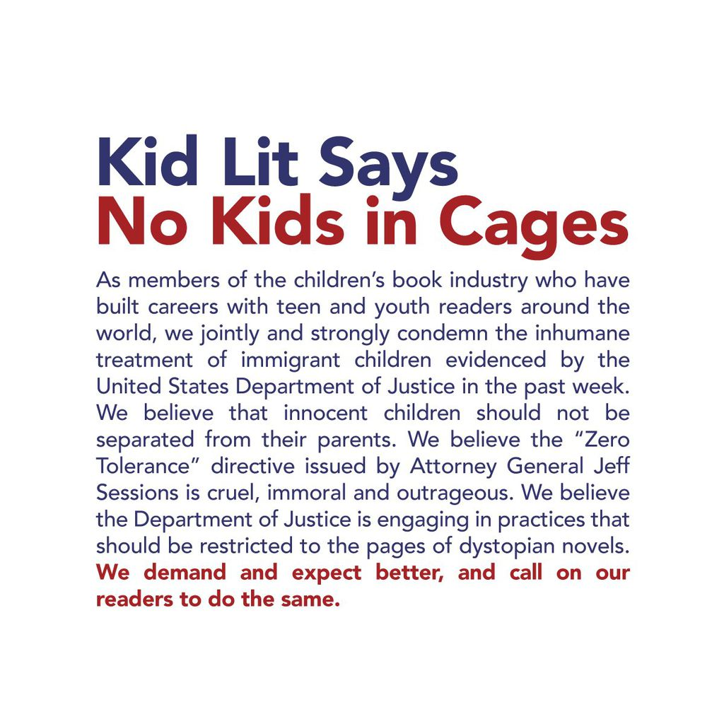 How Kid Lit Readers Can Help Say No to Kids in Cages