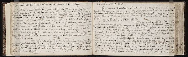 Late 17th Century Commonplace Book