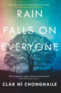 Rain Falls on Everyone by Clar Ni Chonghaile book cover