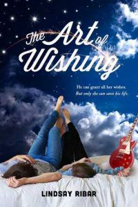 The Art of Wishing by Lindsay Ribar book cover