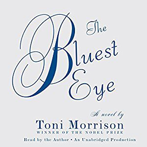 The Bluest Eye by Toni Morrison audiobook cover