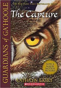 The Capture by Kathryn Lasky Book Cover owl books